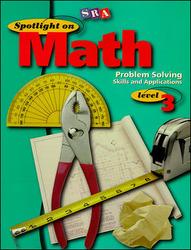 Spotlight on Math, Problem Solving Skills and Applications Workbook, Grade 3 (Pkg. of 10)