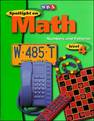 Spotlight on Math, Numbers and Patterns Workbook, Grade 4(Pkg. of 10)