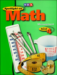 Spotlight on Math, Measurement Workbook, Grade 4 (Pkg. of 10)