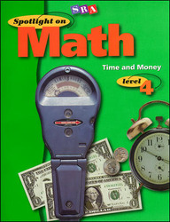 Spotlight on Math, Time and Money Workbook, Grade 4 (Pkg. of 10)