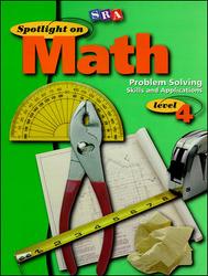 Spotlight on Math, Problem Solving Skills and Applications Workbook, Grade 4 (Pkg. of 10)