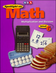 Spotlight on Math, Multiplication and Division Workbook, Grade 6 (Pkg. of 10)