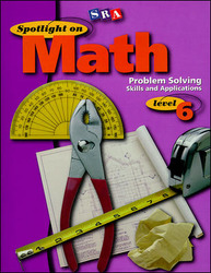 Spotlight on Math, Problem Solving Skills and Applications Workbook, Grade 6 (Pkg. of 10)