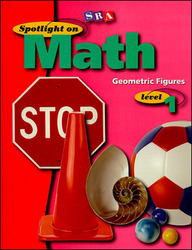 Spotlight on Math, Geometric Figures Workbook, Grade 1 (Pkg. of 10)