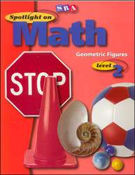 Spotlight on Math, Geometric Figures Workbook, Grade 2 (Pkg. of 10)