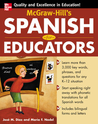 McGraw-Hill's Spanish for Educators (Book Only)