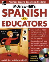 McGraw-Hill's Spanish for Educators w/Audio CD