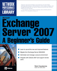 Microsoft Exchange Server 2007: A Beginner's Guide