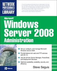 Microsoft Windows Server 2008 Administration
