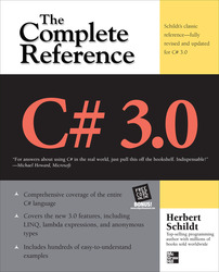 C# 3.0 THE COMPLETE REFERENCE 3/E