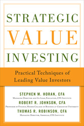 Strategic Value Investing: Practical Techniques of Leading Value Investors