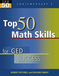 Top 50 Math Skills for GED Success, Student Text Only