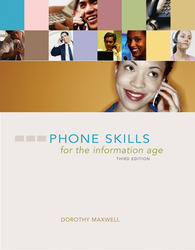 DVD to accompany Phone Skills for the Information Age