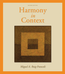 Workbook/Anthology for use with Harmony in Context