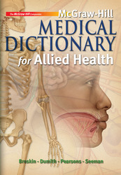 McGraw-Hill Medical Dictionary for Allied Health w/ Student CD-ROM