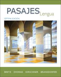 Pasajes: Lengua (Student Edition)