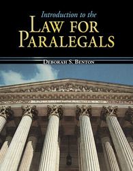 Introduction to the Law for Paralegals