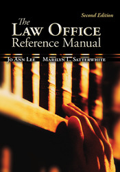 The Law Office Reference Manual