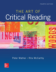 The art of critical reading 0073513598eg fandeluxe Image collections