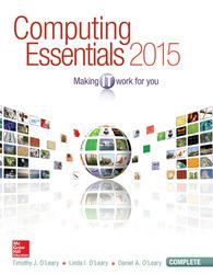 Computing Essentials 2015 Complete Edition