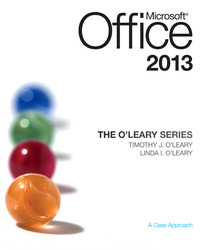 The O'Leary Series: Microsoft Office 2013