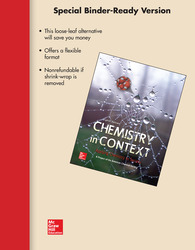 Loose Leaf Version for Chemistry in Context