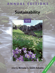 Annual Editions: Sustainability 12/13