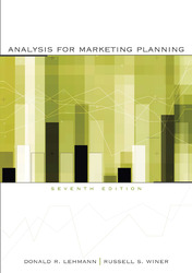 lehmann and winer%2C product management%2C mcgraw hill%2Firwin  Analysis for Marketing Planning
