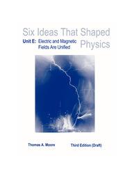 LSC  : Six Ideas That Shaped Physics Unit E(General Use)
