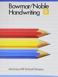 Handwriting Beginner Book D Pupil Edition (SC)