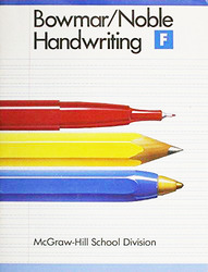 Bowmar/Noble Handwriting, Student Edition Book F