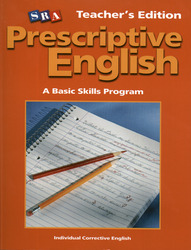 Prescriptive English, Teacher Edition Book B