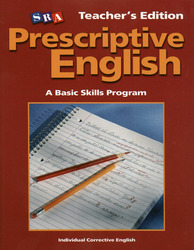 Prescriptive English, Teacher Edition Book D
