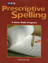 Prescriptive Spelling, Student Edition Book D
