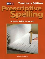 Prescriptive Spelling, Teacher Edition Book B