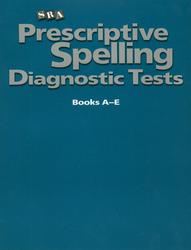 Prescriptive Spelling, Diagnostic Test
