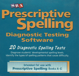 Prescriptive Spelling, CD-ROM Testing Software