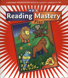 Reading Mastery K 2001 Plus Edition, Language Presentation Book B