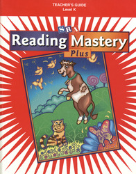 Reading Mastery Plus Grade K, Additional Teacher Guide