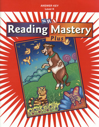 Reading Mastery K 2001 Plus Edition, Answer Key
