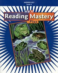 Reading Mastery Plus Grade 3, Additional Answer Key