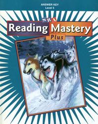 Reading Mastery Plus Grade 5, Additional Answer Key