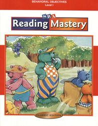 Reading Mastery Classic Level 1, Behavioral Objectives
