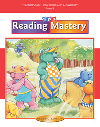 Reading Mastery I 2002 Classic Edition, Teacher Edition Take-Home Books