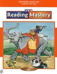 Reading Mastery Classic Fast Cycle, Behavioral Objectives