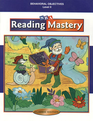 Reading Mastery Classic Level 2, Behavioral Objectives