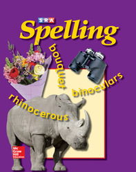 SRA Spelling, Student Edition (softcover), Grade 6