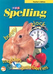 SRA Spelling, Teacher's Edition, Grade 3