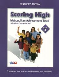 Scoring High on the MAT 8, Teacher Edition with Poster, Grade 4