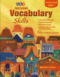 Building Vocabulary Skills, Teacher's Edition, Level 1